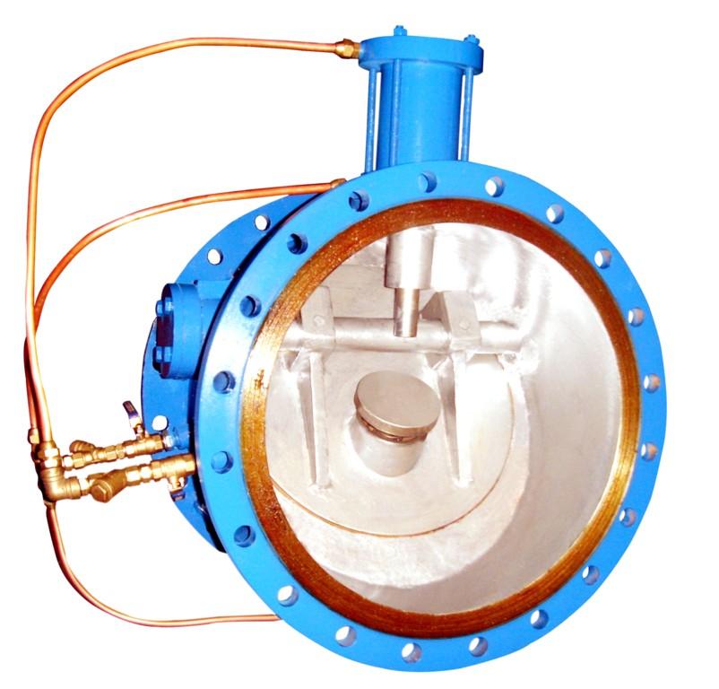 吸收微阻缓闭止回阀,液控止回蝶阀,多功能水利控制阀的基础上研制而成图片